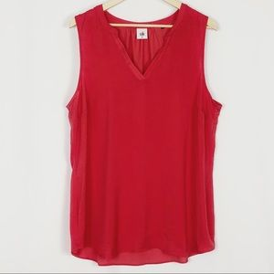 Cabi | The Rose Top Sleeveless Blouse